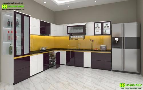 Tủ bếp Acrylic BAPE11P22-03