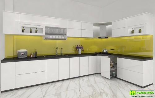 Tủ bếp Acrylic BAE11-05