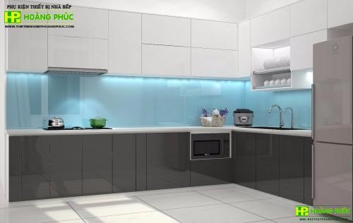 Tủ bếp Acrylic BAE11P24-03