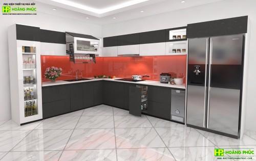 Tủ bếp Acrylic BAE11P24-02
