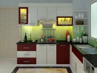 Tủ bếp Acrylic ARLQ026