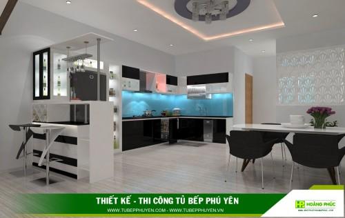 Tủ bếp đẹp Sông Hinh