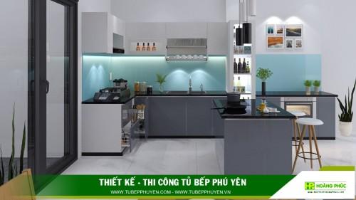 Tủ bếp đẹp Tây Hòa