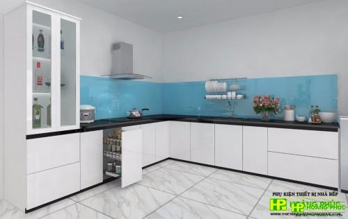 Tủ bếp Acrylic BAE11-06